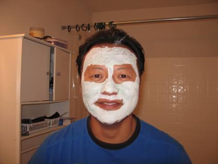 nak lebih Vogue, pakaila face mask cengginih